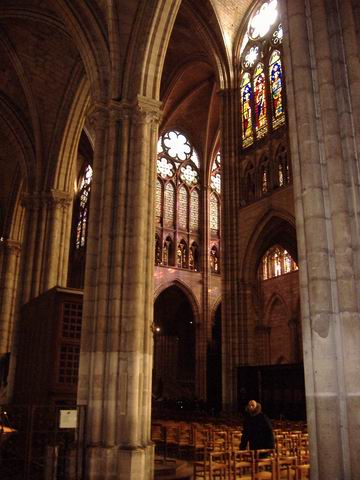 The basilica Saint Denis