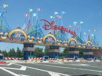 Disneyland Paris - The toll