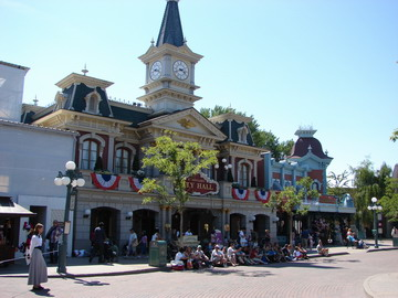 Town Square - EuroDisney
