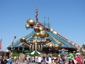 Space Montain 2 - EuroDisney