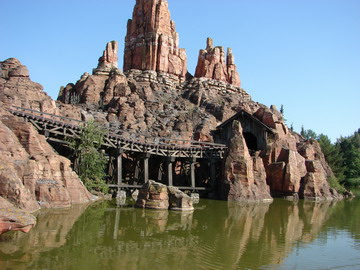 Big Thunder Mountain - EuroDisney