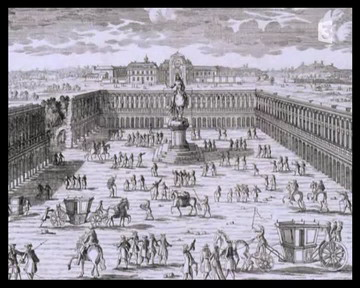 Place Vendome - Sous Louis XIV