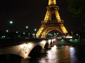 Pont Iena Paris