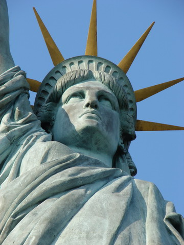 The Statue of Liberty Paris