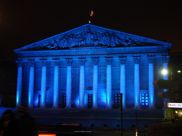 Paris-assemblee-nationale Noel